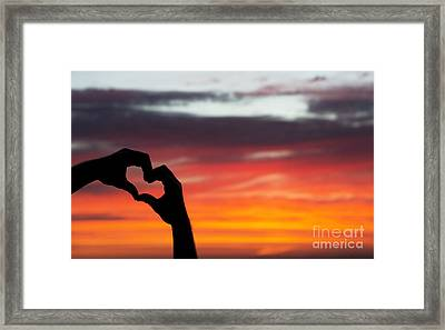 Hands That Help Framed Print by Tim Gainey