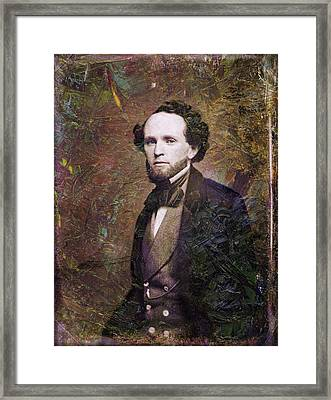Handsome Fellow 3 Framed Print by James W Johnson