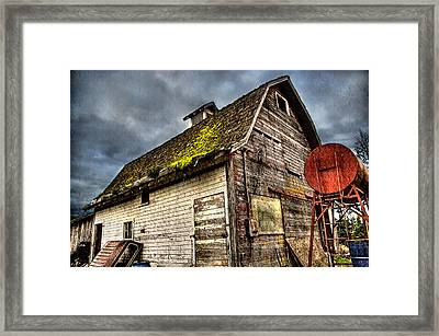 Handy Barn Framed Print