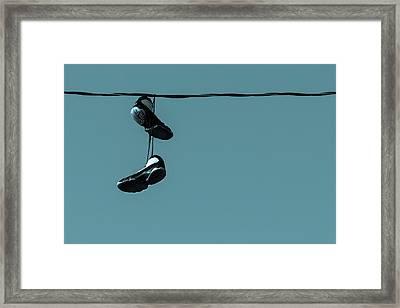 Hang Time Framed Print by Steve Stephenson