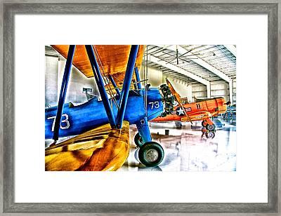 Hangar Buddies Two Framed Print