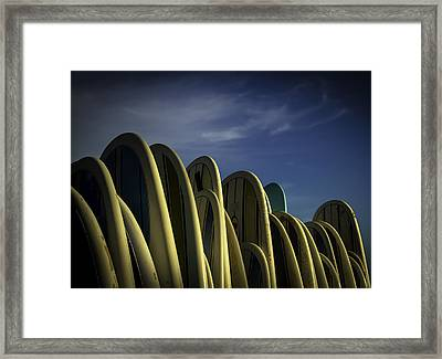 Framed Print featuring the photograph ..hangin'... by Russell Styles