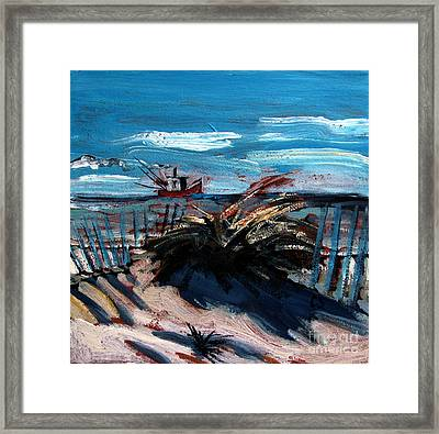 Hanging At Saint Joe Peninsula State Park Framed Print by Charlie Spear