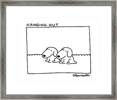 Hanging Framed Print