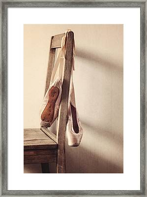 Hanging In The Moment Framed Print by Amy Weiss