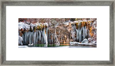 Hanging Lake Framed Print