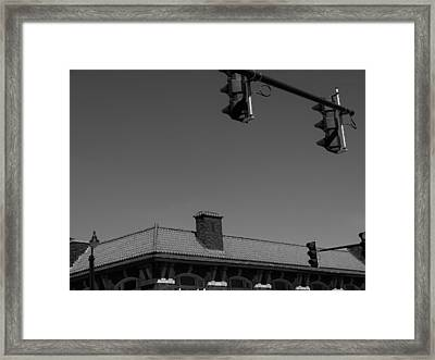 Hanging Lights Framed Print