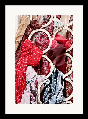 Hijab Fashion Framed Prints