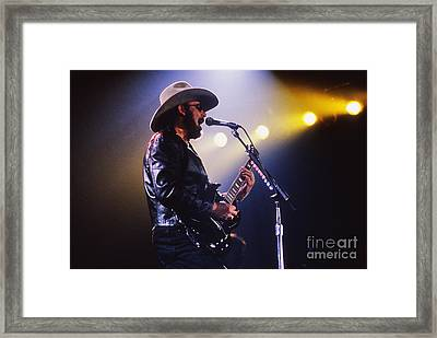 Hank Williams Junior - Fs000246 Framed Print