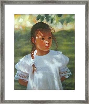 Hannah Framed Print