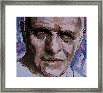 Framed Print featuring the painting Hannibal by Laur Iduc