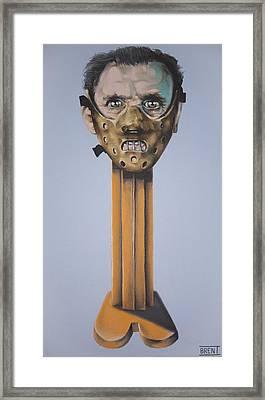 Hannibal Lecter  Framed Print