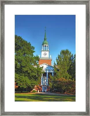 Hanover College Framed Print