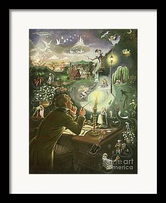 Mythic Framed Prints
