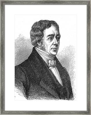 Hans Christian Oersted Framed Print by Collection Abecasis