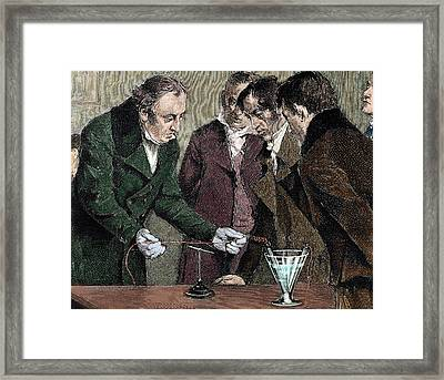 Hans Christian Oersted (copenhagen Framed Print by Prisma Archivo
