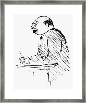 Hans Sachs (1881-1947) Framed Print