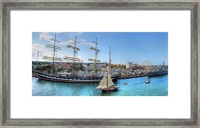 Hanse Sail Regatta Rostock  Framed Print