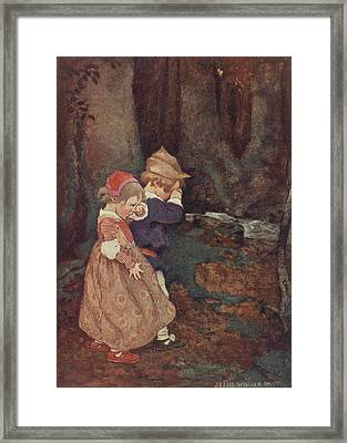 Hansel And Gretel Framed Print by British Library