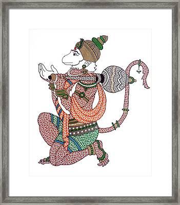 Hanuman Framed Print