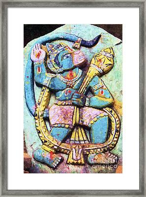 Hanuman  Framed Print by Tim Gainey