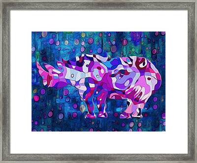 Happened At The Zoo Framed Print by Jack Zulli