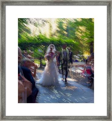 Framed Print featuring the photograph Happily Ever After by Alex Lapidus