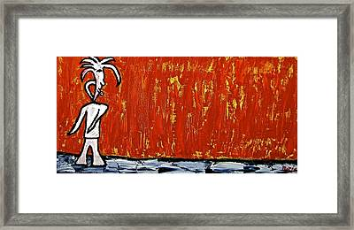 Happiness 12-007 Framed Print by Mario Perron