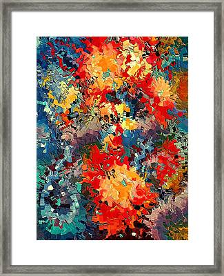 Happiness By Rafi Talby Framed Print by Rafi Talby