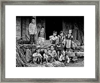 Happiness Is Having Nothing... Framed Print