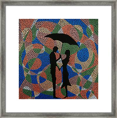 Happiness Framed Print by Kruti Shah