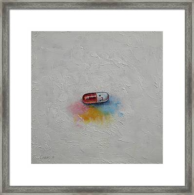 Happiness Framed Print by Michael Creese