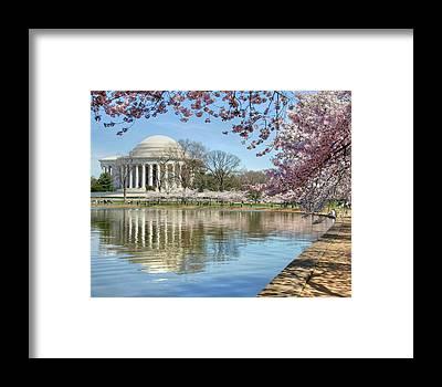 Jefferson Memorial Framed Prints