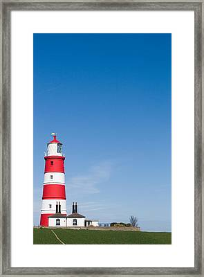 Happisburgh Lighthouse Framed Print by Paul Lilley