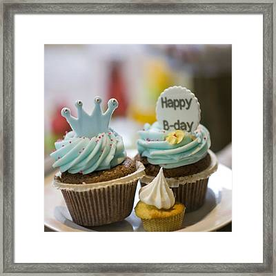 Happy B-day Framed Print by Juli Scalzi