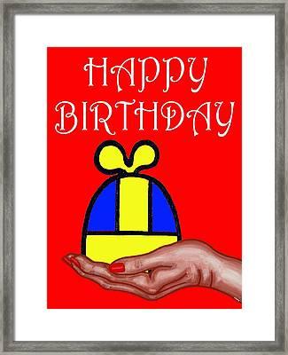 Happy Birthday 2 Framed Print by Patrick J Murphy