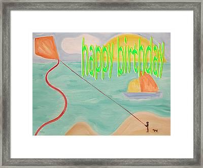 Happy Birthday 26 Framed Print
