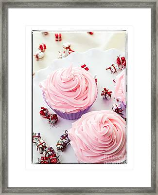 Happy Birthday Cupcakes Framed Print