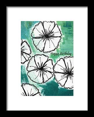 Petunia Framed Prints