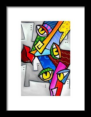 Tom Fedro Framed Prints