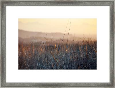 Framed Print featuring the photograph Happy Camp Canyon Magic Hour by Kyle Hanson