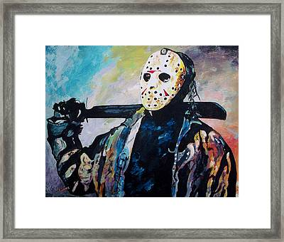 Happy Camper Framed Print by Jeremy Moore