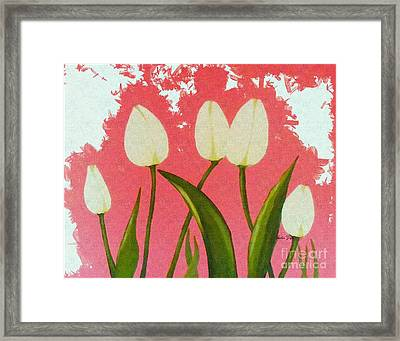 Happy Dance  Framed Print by Barbara Griffin