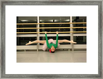 Happy Dancing  Framed Print by Wendy Potocki