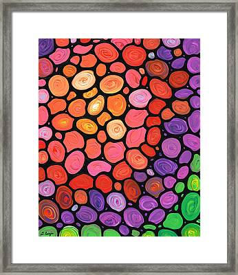Happy Day Framed Print by Sharon Cummings