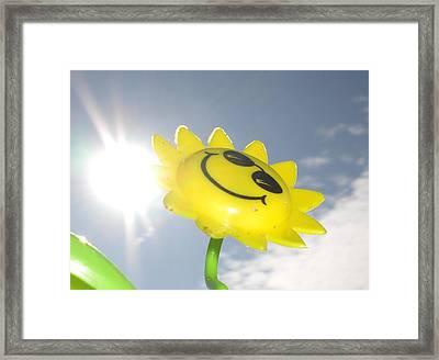 Happy Days Framed Print by David King
