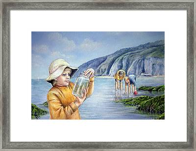 Happy Days Framed Print by Rosemary Colyer