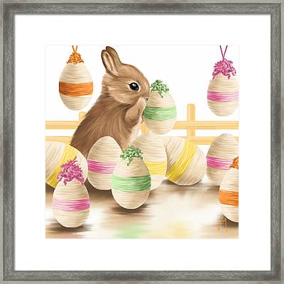 Happy Easter 2013 Framed Print