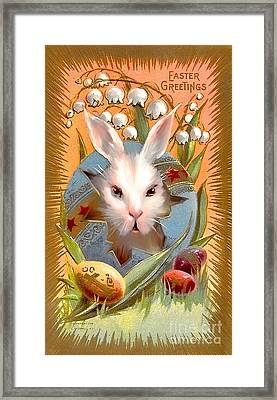 Happy Easter For All. Framed Print by Andrzej Szczerski