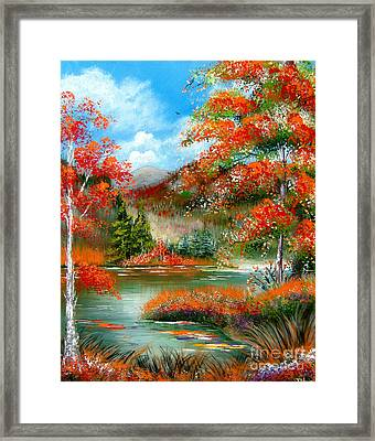 Happy Ever After Autumn  Framed Print by Patrice Torrillo